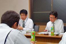 講師 津市役所政策財務部 岡則幸様、松田千秋様