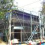 外壁工事完成(2月28日)