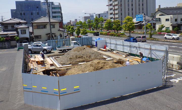 トヨタレンタリース三重津栄町店 新築工事